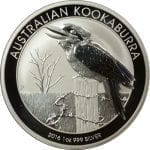 2016 Australian Kookaburra silver coin