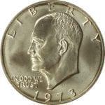 1973 40% Silver Eisenhower Dollar - BU