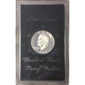 1973 40% Silver Eisenhower Dollar - Proof