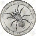 2015 Australia 1 oz .999 fine Funnel Web Spider