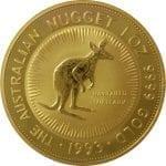 Australian Gold Nugget 1 oz Pure Gold
