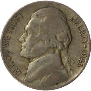 Wartime Silver Jefferson Nickel
