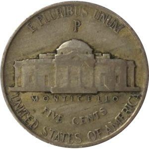 35% silver wartime Jefferson nickels