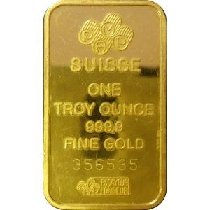 1 oz Gold bar - loose
