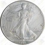 1992 1 oz American Silver Eagle