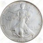 1994 American Silver Eagle -- 1 oz .999 fine silver