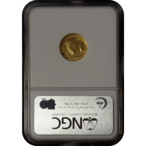 2008-W 1/10 oz American Gold Buffalo - .9999 Fine Gold - NGC MS70