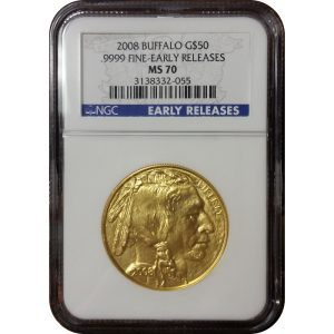 2008 American Gold Buffalo - NGC MS70 Early Releases