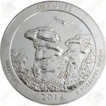 2016 America the Beautiful 5 oz silver Shawnee National Forest