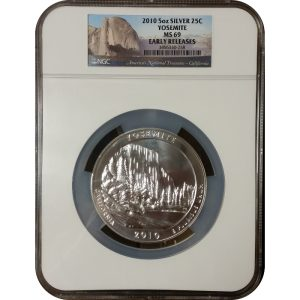 2010 Yosemite ATB 5 oz Silver - NGC MS69 Early Releases