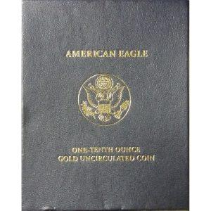 2007-W 1/10 oz Burnished American Gold Eagle