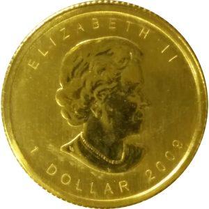 Canadian 1/20 oz Gold Maple Leaf - .9999 Fine