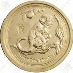 2016 Australia 1/2 oz gold Year of the Monkey