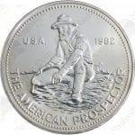 1982 Engelhard 1 oz silver Prospector