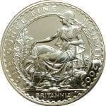 2005 Great Britain Silver Britannia - 1 oz