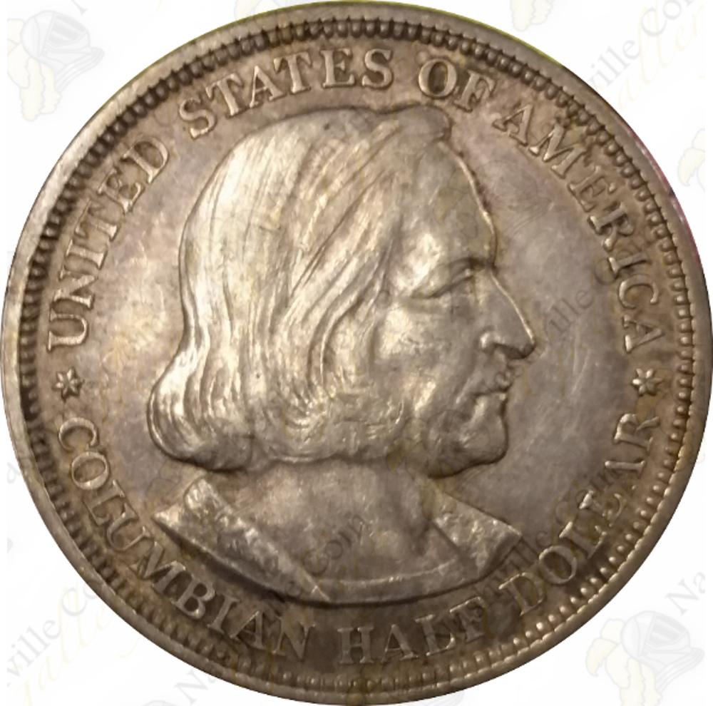 1892 or 1893 Columbian Expo Commemorative 90/% Silver Half Dollar SKU #42115