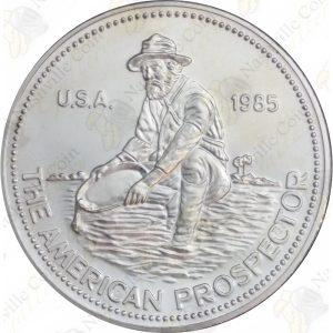 1985 Engelhard 1 oz silver Prospector