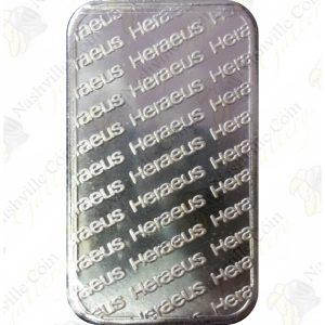 1 oz .999 fine silver bar (generic)