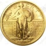 2016 1/4 oz gold Standing Liberty Quarter