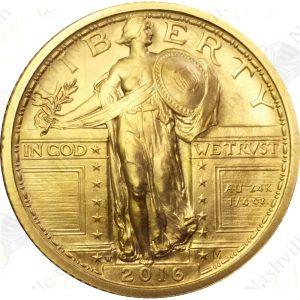 2016 1/4 oz gold Standing Liberty Quarter