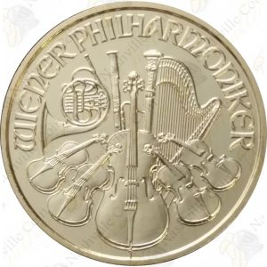 Austria 1/10 oz gold Philharmonic
