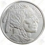 Buffalo / Indian 1 oz silver round