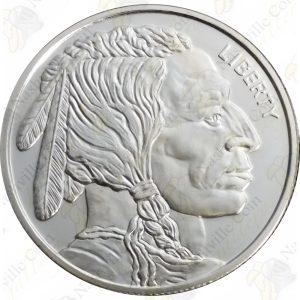 Buffalo / Indian 1 oz silver round
