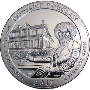 2017 Frederick Douglass 5 oz silver America the Beautiful