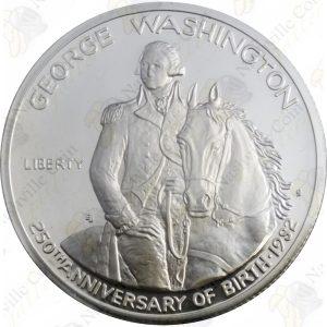 1982 George Washington Commemorative silver half dollar (Proof)
