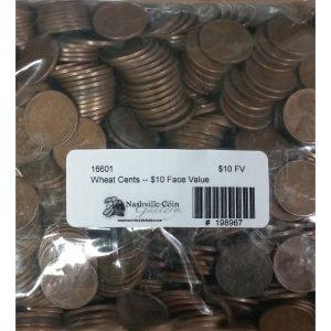 "Pre-1959 Lincoln ""Wheat"" Cents -- $10 Face Value"