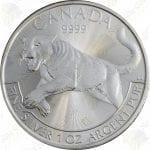 2016 Canada Predators series 1 oz silver Cougar