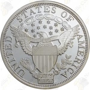 2 oz .999 fine generic silver round