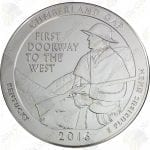 2016 America the Beautiful 5 oz silver Cumberland Gap