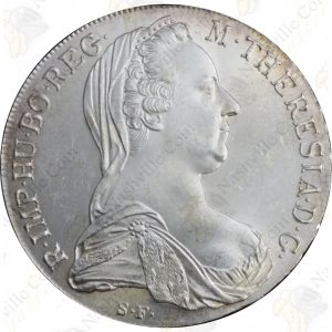 1780 Maria Theresa Thaler (Restrike)