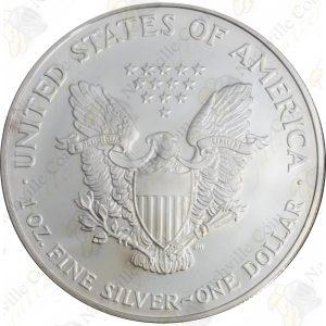 2007 American Silver Eagle - 1 oz .999 fine silver