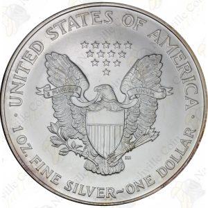 1997 1 oz American Silver Eagle -- BU -- .999 fine silver