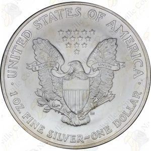 2004 American Silver Eagle -- BU -- 1 oz .999 fine silver
