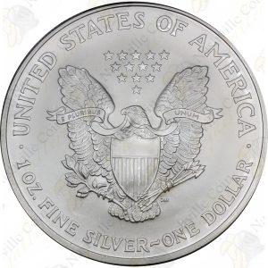 2005 American Silver Eagle -- BU -- 1 oz .999 fine silver