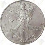 2006 American Silver Eagle -- BU -- 1 oz .999 fine silver
