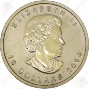 2014 Canada $10 1/4 oz gold Arctic Fox