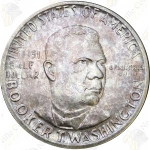 Booker T. Washington Commemorative Silver Half Dollar (Random Date)