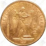 French gold Angel -- .1867 oz fine gold