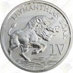 Provident Metals -- 12 Labors of Hercules: Erymanthian Boar -- 1 oz .999 fine silver