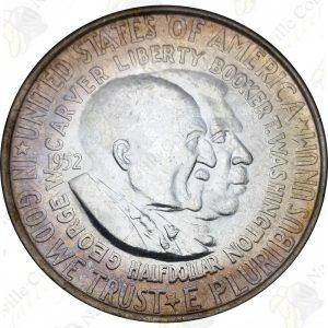 Washington-Carver Commmorative 50c (Random Date) -- AU or better condition