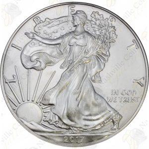 2017 American Silver Eagle -- BU -- 1 oz .999 fine silver