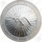 2017 Australia 1 oz .9999 fine silver Kangaroo