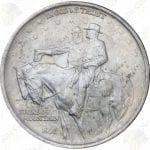 1925 Stone Mountain Commemorative Half Dollar -- AU or better condition