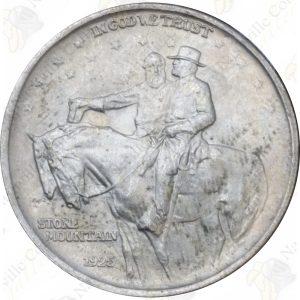 1925 Stone Mountain Commemorative Half Dollar -- AU or better condition