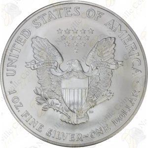 1996 American Silver Eagle -- 1 oz BU
