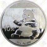 2017 China 30 gram .999 fine silver Panda